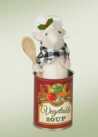 Mouse in a Can of Soup