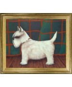 TEMPORARILY OUT OF STOCK  White Scottie'