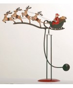 TEMPORARILY OUT OF STOCK <BR><BR>  Santa & Reindeer Balancer