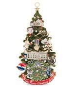 2015 - White House Historical Christmas Ornament Calvin Coolidge