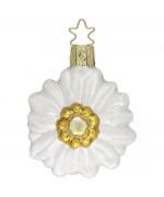 Inge-Glas Ornament Edelweiss Blume