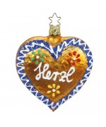 Inge-Glas Ornament Frosted Lebkuchen