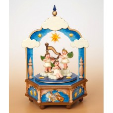 Stille Nacht Music Box Original HUBRIG Wooden Figuren - TEMPORARILY OUT OF STOCK