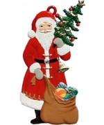 Nikolaus mit Schlittschuhen Christmas Pewter Wilhelm Schweizer