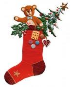 TEMPORARILY OUT OF STOCK - Weihnachtsstrumpf Christmas Pewter Wilhelm Schweizer