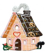 TEMPORARILY OUT OF STOCK - Gingerbread House Christmas Pewter Wilhelm Schweizer
