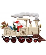 TEMPORARILY OUT OF STOCK - Locomotive Christmas Pewter Wilhelm Schweizer