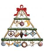 Kranzpyramide Christmas Pewter Wilhelm Schweizer