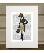 Dandy Fox FabFunky Book Print