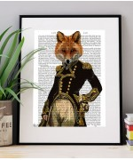 Admiral Fox FabFunky Book Print - TEMPORARILY OUT OF STOCK
