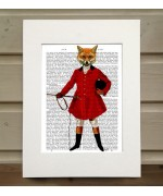 Fox Hunter FabFunky Book Print