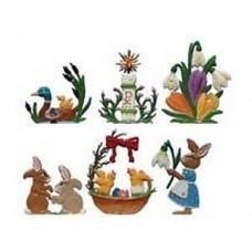 Easter Miniatures 6 Piece Set Wilhelm Schweizer