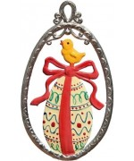 Easter Egg Easter Oster Pewter Wilhelm Schweizer