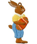 Wilhelm Schweizer Easter Oster Pewter Easter Bunny