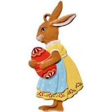 Wilhelm Schweizer Easter Oster Pewter Easter Girl