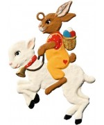 Wilhelm Schweizer Easter Oster Pewter Lamb
