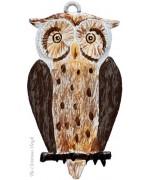 Owl Hanging Ornament Wilhelm Schweizer