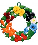 Wilhelm Schweizer Easter Oster Pewter Summer Wreath
