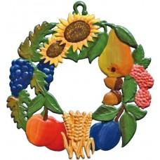 Wilhelm Schweizer Easter Oster Pewter Fall Wreath