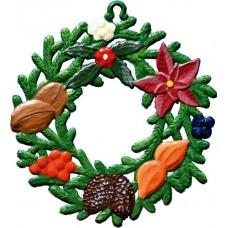 Wilhelm Schweizer Easter Oster Pewter Winter Wreath