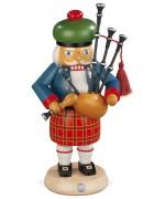 Mueller Nutcracker Ezgerbirge Scotsman with Bagpipes - Irish