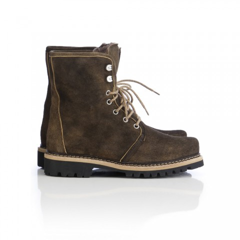 Dirndl + Bua Lace Up Boots