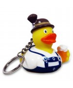 Bavarian Rubber Duck Key Chain LILALU
