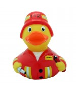 Firefighter Rubber Duck LILALU