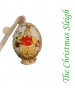 TEMPORARILY OUT OF STOCK  Peter Priess of Salzburg Hand Painted Easter Egg
