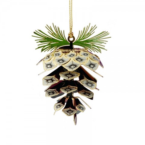 Sylvan Pine Cone Chem Art