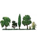 Baumleiste Set of Trees Standing Pewter Wilhelm Schweizer
