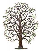Oak Tree Spring Standing Pewter Wilhelm Schweizer