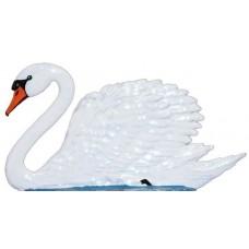 Wilhelm Schweizer Fairytale Pewter Swan