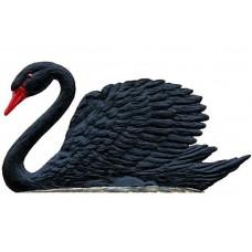Black Swan Standing Pewter Wilhelm Schweizer