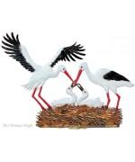 Stork's Nest Special Standing Pewter Wilhelm Schweizer