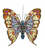 Vibrant Butterfly Chem Art - TEMPORARILY OUT OF STOCK