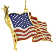American Flag Chem Art