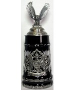 TEMPORARILY OUT OF STOCK <BR>Black Lord of Crystal 0.5 L Beer Stein