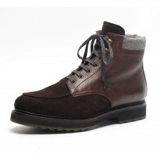 Dirndl + Bua Brown Leather Boot