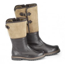 TEMPORARILY OUT OF STOCK - Dirndl + Bua Leather Winter Boots