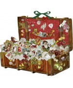 TEMPORARILY OUT OF STOCK - Coppenrath German Paper Advent Calendar - Treasure Chest