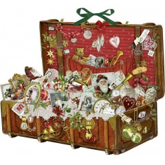 Coppenrath German Paper Advent Calendar - Treasure Chest