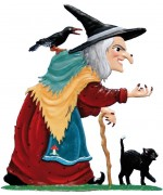 Wilhelm Schweizer Fairytale Pewter The Big Bad Witch