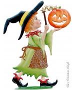 Zauberer Halloween Trick-or-Treater Standing Pewter Wilhelm Schweizer
