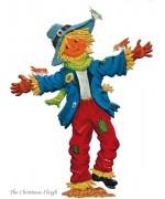 Scarecrow Standing Pewter Wilhelm Schweizer