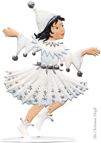 Winter Fairy Standing Pewter Wilhelm Schweizer - TEMPORARILY OUT OF STOCK
