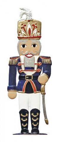 Nutcracker Soldier Christmas Pewter Wilhelm Schweizer