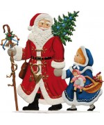 Jahresnikolaus Anno 2009 Christmas Pewter Wilhelm Schweizer - TEMPORARILY OUT OF STOCK