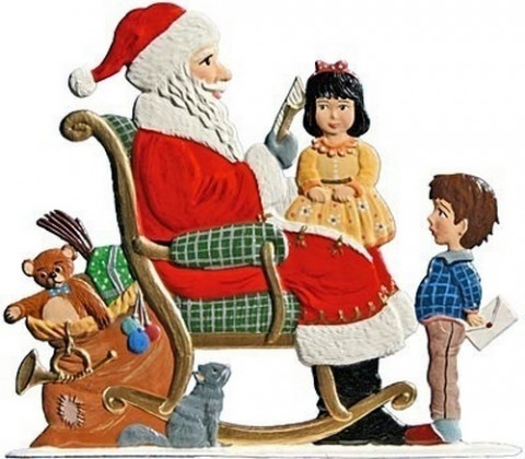 We Visit Santa Anno 1993 Christmas Pewter Wilhelm Schweizer