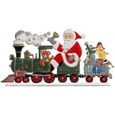 TEMPORARILY OUT OF STOCK - Santa's Locomotive Anno 2000 Christmas Pewter Wilhelm Schweizer
